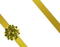 Goldfarbbänder 01 Stockfoto