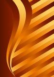 Goldfarbenhintergrund Stockbild