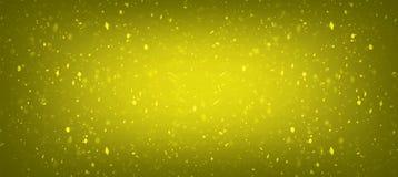 Goldfarbhintergrund mit überraschenden Noteneffekten für oder Schmuckgeschäften lizenzfreies stockfoto