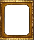 Goldfeld - Rechteck geformt Lizenzfreie Stockfotografie