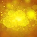 Goldfestlicher Hintergrund Weihnachten und neues Jahr Stockfotos