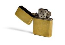 Goldfeuerzeug Lizenzfreies Stockfoto