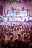 Goldfieber-Amnesie Ibiza Festival in Moskau stockbilder