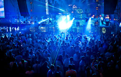 Goldfieber-Amnesie Ibiza Festival in Moskau Stockfotos
