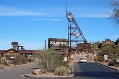 Goldfield, Аризона стоковая фотография rf