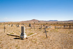 Goldfield Cemetery in Nevada Royalty Free Stock Photography