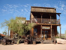 Goldfield Ghost Town Stock Photography