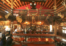A Goldfield Ghost Town Mammoth Saloon, Arizona Stock Photography