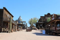 Goldfield Ghost Town and Mine. Building at Goldfield Ghost Town and Mine in Goldfield, Arizona royalty free stock photo