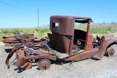 Goldfield kopalnia i miasto widmo Fotografia Stock