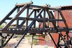Goldfield kopalnia i miasto widmo Zdjęcia Royalty Free
