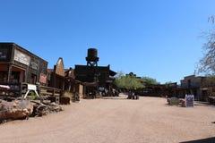 Goldfield kopalnia i miasto widmo Fotografia Royalty Free
