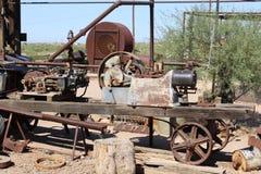 Goldfield kopalnia i miasto widmo Obrazy Stock