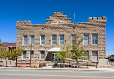 Goldfield, Nevada. Historic courthouse Stock Photos