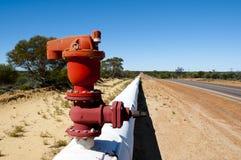 Goldfields Water Pipeline. Western Australia stock photos
