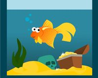 Goldfish Illustration Stock