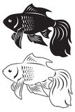 Goldfish ilustração royalty free