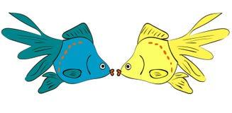 Goldfish Royalty Illustrazione gratis