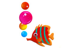 Goldfish with bobbles - Stock Image Stock Photos