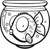 Goldfish Bowl Stock Photography