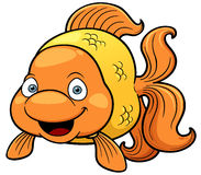 Goldfish cartoon Stock Photo
