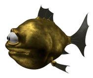 Goldfish extraño stock de ilustración