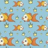 Goldfish pattern Stock Images
