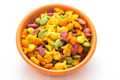 Goldfish przekąski krakers Obraz Stock