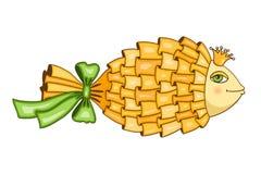 Goldfish symbol Stock Image