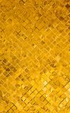 Goldfliesehintergrund Lizenzfreie Stockbilder
