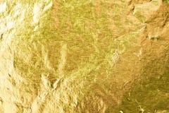 Goldfolie Lizenzfreies Stockfoto
