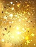 Goldfolie Stockbilder
