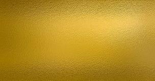 Goldfolien-Beschaffenheitshintergrund Lizenzfreies Stockbild