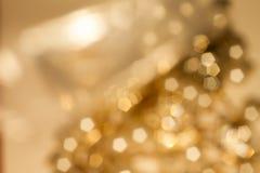 Goldfrühling oder Sommerhintergrund Lizenzfreie Stockbilder