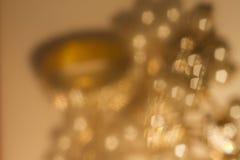 Goldfrühling oder Sommerhintergrund Lizenzfreies Stockbild