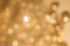 Goldfrühling oder Sommerhintergrund Stockbilder