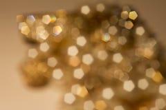 Goldfrühling oder Sommerhintergrund Lizenzfreie Stockfotos