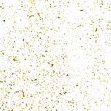Goldfunkeln-Beschaffenheitsvektor stock abbildung