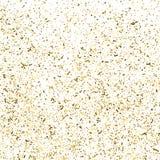 Goldfunkeln-Beschaffenheitsvektor lizenzfreie abbildung