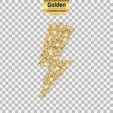 Goldfunkelnikone Lizenzfreies Stockfoto