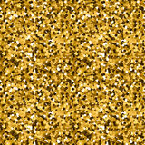 Goldfunkelnmuster Stockfoto