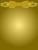 Goldhintergrund Lizenzfreies Stockbild
