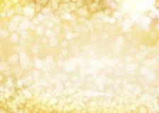 Goldhintergrund mit Sternen Stockbilder