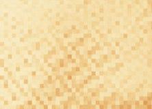 Goldhintergrund-Mosaikbeschaffenheit Element der Auslegung Lizenzfreie Stockfotos