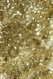 Goldhintergrundunschärfe Lizenzfreie Stockfotos
