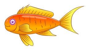 Goldie моря шаржа Стоковое Изображение RF