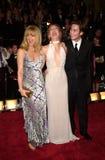 Goldie, Goldie Hawn, Oliver Hudson, Steve Martin lizenzfreies stockbild