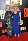 Goldie Hawn and Amy Schumer Stock Photo