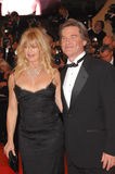 Goldie Hawn,Kurt Russell Stock Photo