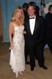 Goldie Hawn, Kurt Russell stockbild